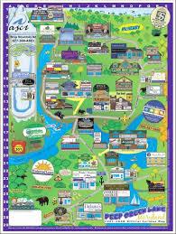 deep creek lake maps