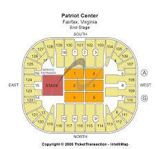 patriot center seats