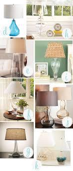 hand blown glass lamp