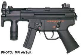 Liste des répliques - Partie II, les pistolets-mitrailleurs [Achevée] Mp5k
