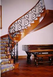 iron stair case
