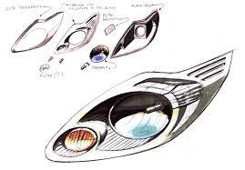 ford ka head light
