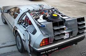 back to the future cars