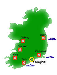 map of ireland for kids