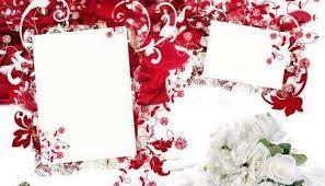 frame for wedding