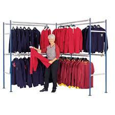 wall garment rack