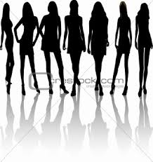 fashion design silhouettes