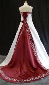 burgundy gowns