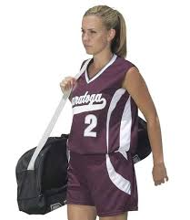 girls softball uniforms