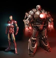 art of iron man