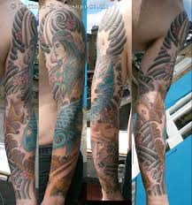 full sleeve tattoo designs