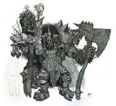orc warhammer