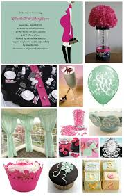 chic baby shower decorations