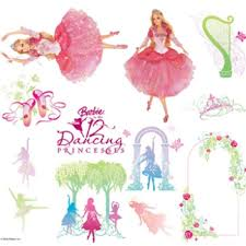 barbie wall stickers
