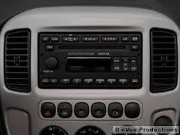 ford escape radio