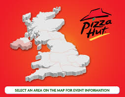 pizza hut maps