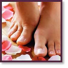 french pedicure pictures