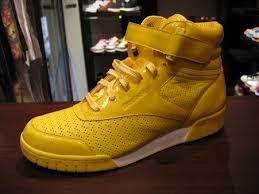 reebok yellow