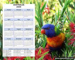 photo calendar 2009