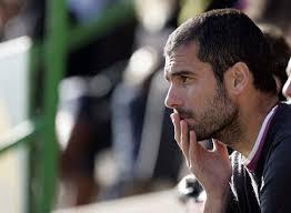 Barcelona coach Pep Guardiola