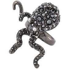gunmetal rings
