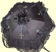 gothic parasols