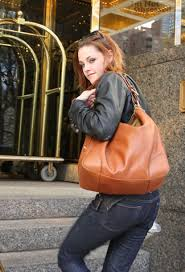 orange leather purses