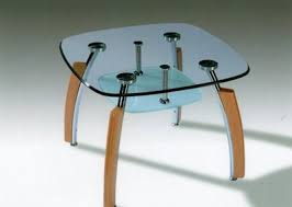 metal and glass tables