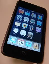 apple ipod touchscreen