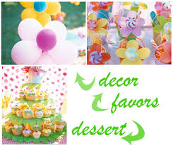 flower party theme