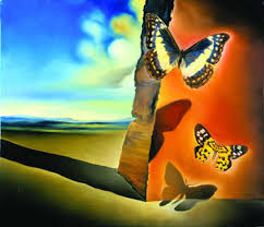 salvador dali butterfly