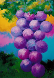 grape paintings