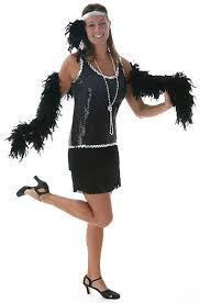 flapper costume shoes