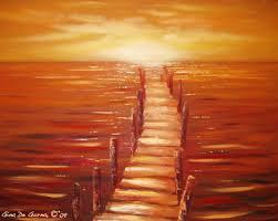 red paintings art