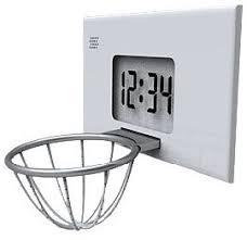basketball alarm clock