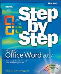 microsoft office 2007 book