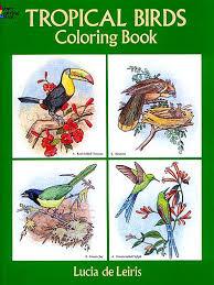 coloring books birds