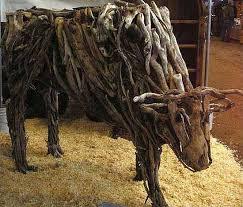 animal wood sculptures