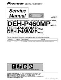 pioneer deh p4650mp