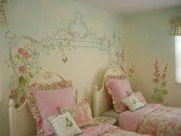 girls bedroom murals