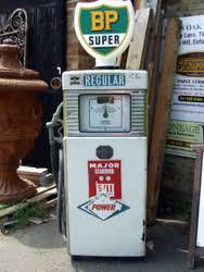 antique petrol pumps