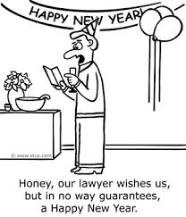 happy new year cartoons