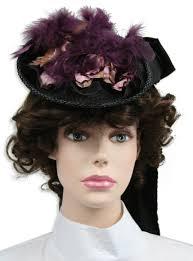 ladies victorian hat