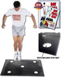 dot drill mats