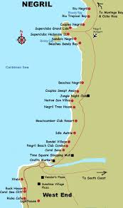 negril hotels map