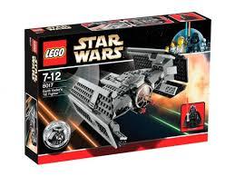 darth vader lego ship