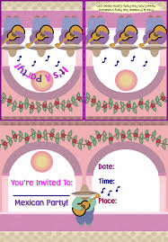 mexican party invites