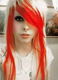 colorful hair styles