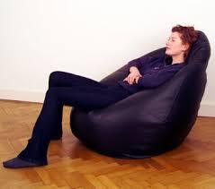 brown bean bag chairs