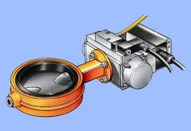 pneumatic butterfly valve